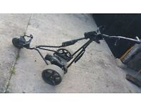 Powacaddy 3 wheeled electric golf trolley