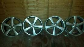 Alloy wheels Ford 17inch