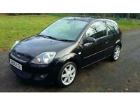 Ford Fiesta Zetec Blue 1.4TDCI, 08, **MOT Jan 2018** 76,000 Genuine miles similar to corsa,peugeot
