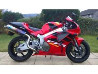 Honda VTR 100 SP-1. NEW ENGINE & GEARBOX fitted and done only 1005 miles.