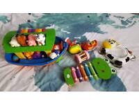 Toy bundle including Noahs ark