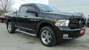 2011 Ram 1500 QUAD CAB SPORT 4X4 - LEATHER - NAV