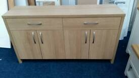 £90 - Venice 4 Door 2 Drawer sideboard - slight second - delivery available