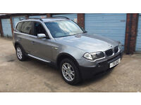BMW X3 2.5 SE AUTOMATIC 54 PLATE PRIVATE PLATE IMMACULATE FULLY LOADED SPEC £2750