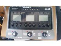 Zoom G3 multi-effect unit