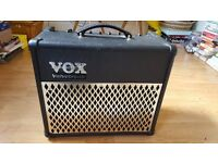 VOX Valvetronix AD15VT amplifier + guitar cable, great condition