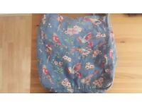 Cath Kidston Blue British Birds Messenger Bag