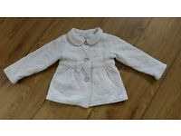 Georgeous Pale Pink TED BAKER Girls Coat, 18-24 Months