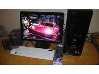 """Fast SSD Dell XPS 430 Quad Core MINECRAFT Gaming Desktop Computer PC With Dell 21"""""""