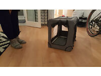 Mobile travel Dog/Cat/Pet kennel (Fully collapsable)