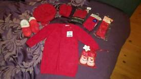 Baby girl Christmas bundle clothing 6-12 months