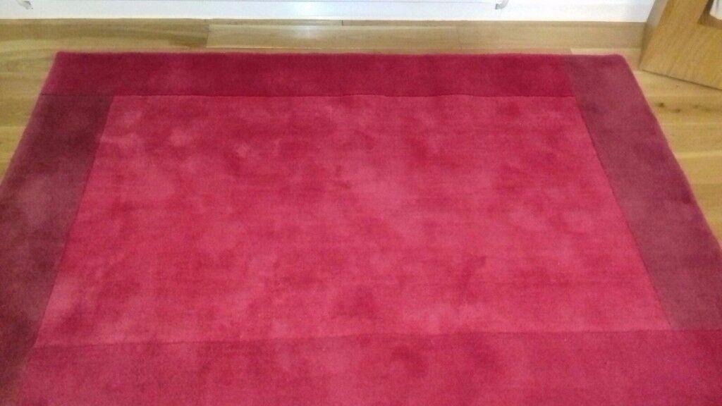 Next Red Wool Rug