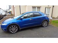 Honda Civic 1.8i sport **62,000**