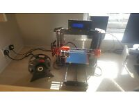 3D Printer - Prusa i3 style - Fully assembled and fully working + 2 spools of PLA