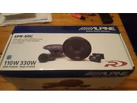 "Alpine SPR-60C 6.5"" Component Speaker Set"