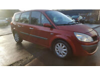 2007 RENAULT SCENIC G-SCENIC DYNAMIQUE 1.9 DIESEL 6 SPEED BOX