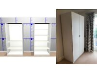 IKEA PAX wardrobes - Selling one year old PAX double wardrobe. 2 Units.