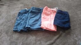 6-9 months boys shorts and summer trousers
