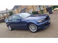 2004 (54) BMW 3 SERIES E46 318ci 2.0L PETROL MANUAL 2DR COUPE MOT APR 17 HPI CLEAR FULL SERVICE HIS