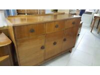 Dark Wood SideBoard Dresser