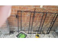 For sale drive way gates in very good condition both gates together measure 8 ft