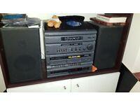 hitachi md-02 hifi - Turntable/Cassette/CD/FM/AM/MW £25