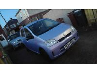 Daihatsu charade 1.0 12v vvti £30 road tax long mot