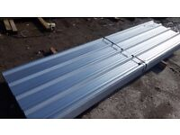 ROOFING CLADDING GALVANISED BOX PROFILE CORRUGATED FLAT SHEETS ANGLES 8ft 10ft 12ft 14fT DELIVERY