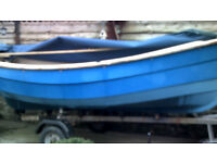 12ft 6 Sailing boat