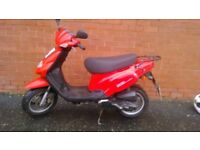 Red TGB 202 classic scooter £550ono