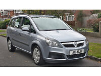 2006 Vauxhall Zafira 1.9 CDTI + 7 SEATER + Silver LOW MILES + PRIVATE PLATE + SERVICE HISTORY Diesel