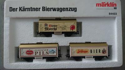 MÄRKLIN H0 84403 Der Kärntner Bierwagenzug ÖBB OVP (#543)