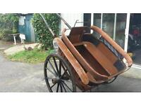Governess carriage barn find horse trap