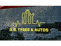 Partworn tyres and new tyres cars vans 4x4 trailor light comercial