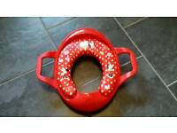 Minnie Mouse Toilet Training Seat