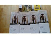 4 Premiership Rugby Final Tickets.
