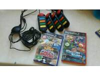 Ps2 buzzer and games