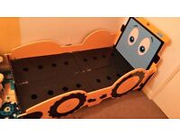 Toddler / Junior JCB Digger Bed Plus Mattress