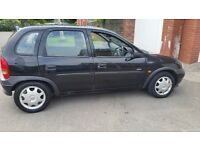 Vauxhall corsa 12months mot central lock cheap on fuel and taxt 1.5diesel
