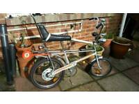 WANTED RALEIGH CHOPPER or PARTS