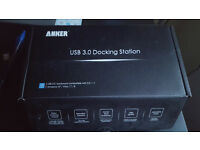 Anker USB 3.0 Dual Display Docking Station