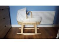 Moses basket Perfect condition