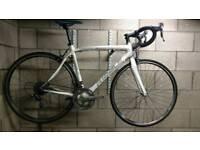 Carbon road bike Ribble spottive Bianco