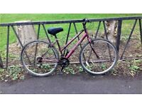 """Ladies Road Town Bike Bicycle. Fully Serviced, Ready To Ride & Guaranteed. 17"""" Frame. 18 Speed"""