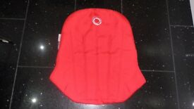 BUGABOO RED CAMELEON CANVAS SEAT INLAY