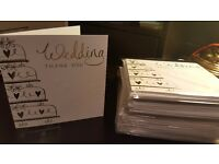 Beautiful Wedding Thank You Cards **Brand New** !!72 Cards for £5!!