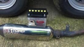 Sinnis apache exhaust battery