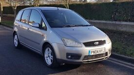 FORD C-MAX 1.8 PETROL LOOKS AND DRIVES GOOD !!! EXCELLENT RUNNER!!! GOOD CAR!! 1 YEAR MOT!!!!