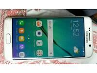 Samsung galaxy s6 edge 32gb u locked & fully working but smashed screen