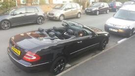 Clk 200 convertible . Automatic. Petrol. Full service history . Very good condition . 107k mileage